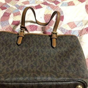 Percent condition Michael Kors purse